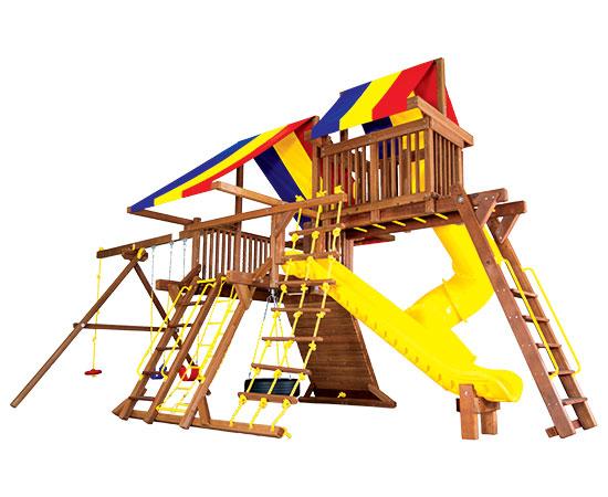 19G-Rainbow-Castle-Pkg-V-with-270-Spiral-Slide-A2