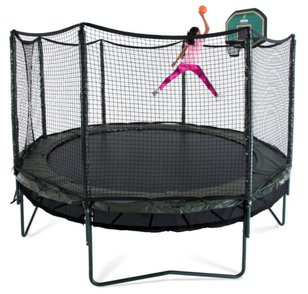 AlleyOOP 14' DoubleBounce System With Enclosure 3