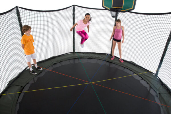 AlleyOOP 14' DoubleBounce System With Enclosure 4