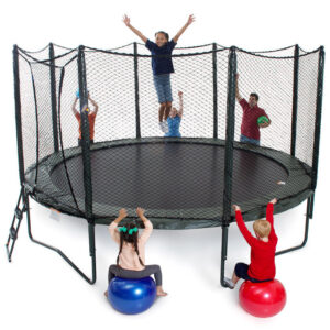 AlleyOOP VariableBounce 14' Trampoline With Enclosure 2