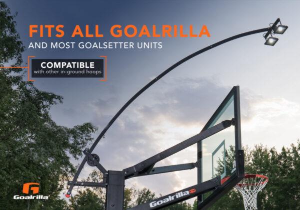 Goalrilla basketball hoop light 2