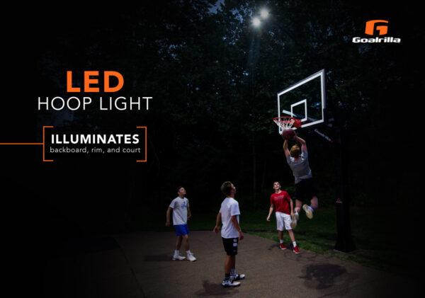 Goalrilla basketball hoop light 4