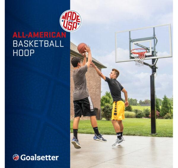 Goalsetter All-American Adjust In-Ground Basketball Hoop 3