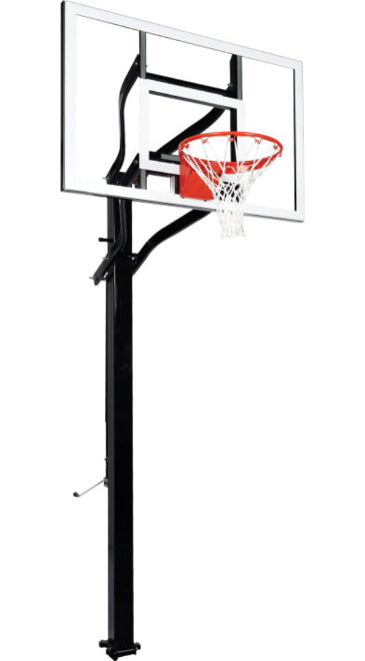 Goalsetter X554 Adjustable In-Ground Basketball Hoop 1