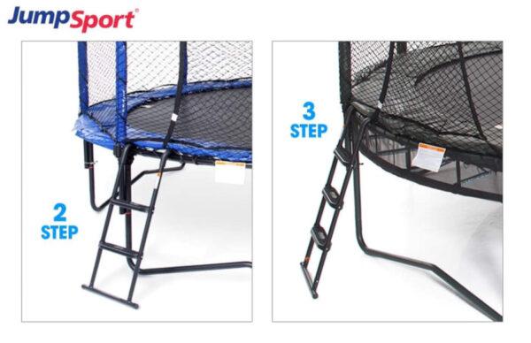 Surestep trampoline ladder 3 and 2 step